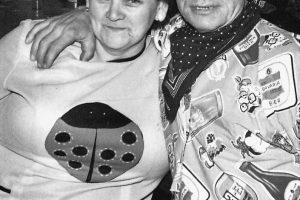 Annie Bonants en Sjaak Janssen (De Slager ).