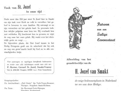 Historie St. Jozef buitenkant