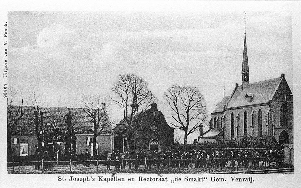 Panorama Oude Kerk, Rectoraat en Kapel