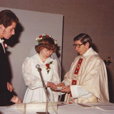 Pater Willem ter Lauw bruidspaar Jos Kallen en Maria Bonants1