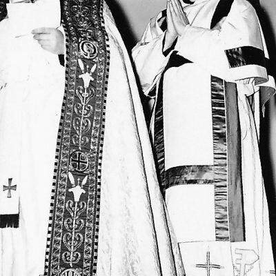 Rector Heijnen en Pater Theo Dardus