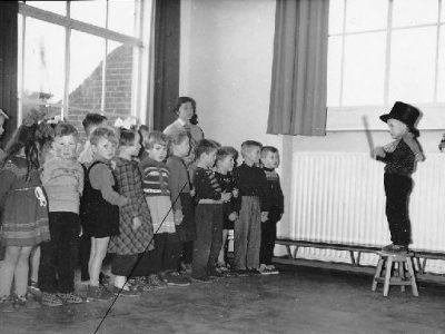 kleuterklas 1958